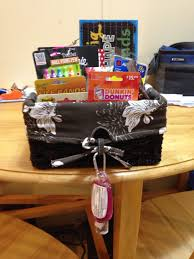 halloween gift baskets ideas gift basket i made for my cooperating teacher on my last day of