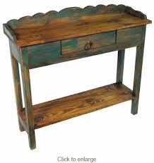Painted Console Table Wood Console Table With Drawer