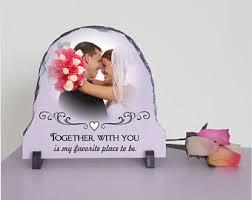 Personalized Wedding Plaque Custom Couple Gift Etsy
