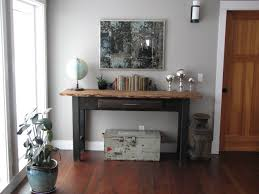 Living Room Console Tables Console Table Mirror Vignette Eclectic Living Room Seattle