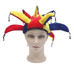 mardi gras hat multicolor jester hat clown cap mardi gras