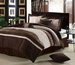 bedding sets brown bedding sets blue and brown brown bedding