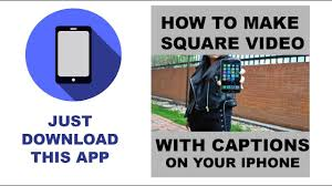 How To Make Meme Videos - how to make square meme videos with iphone youtube