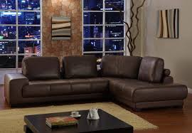 Leather Sectional Sofa Bed by Appealing Brown Leather Sectional Sofa Clearance 11 For The Brick