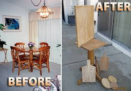 repurposed dining table repurposing in your home sustainability blog thousand oaks ca