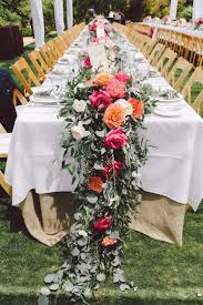 wedding tables fall wedding reception table decoration ideas