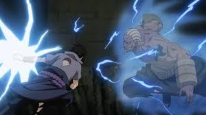 vs sasuke sasuke vs five kages shippuden