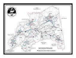 Alaska Rivers Map by Middle Nenana River Advisory Committee Alaska Department Of Fish