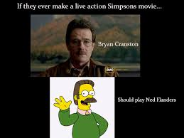 Bryan Cranston Memes - ned flanders in real life breaking bad know your meme