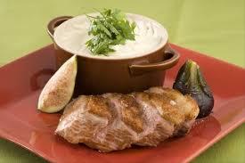 topinambour recette cuisine recette de filet de canette aux figues mousseline de topinambour au