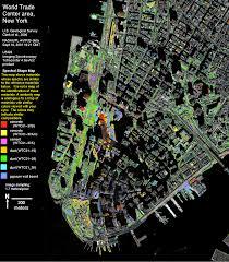 Space Debris Map Usgs Spectroscopy Lab World Trade Center Usgs Environmental