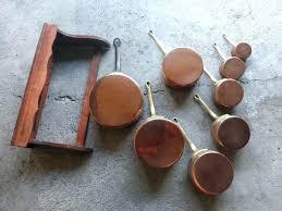 batterie de cuisine en cuivre a vendre batterie de cuisine en cuivre casseroles cuivre tag re clasf for