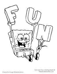 spongebob coloring book best sponge bob coloring page free printable 24343 autosarena net
