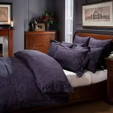 Buy Bed Sheets Online U2013 100 Egyptian Cotton Bed Linen Dorma Paisley Navy Continental Pillowcase Navy Bedding Bed