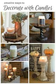 5 ways to decorate with candles postcards from the ridge
