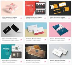 30 best u0026 free business card templates 2017 edition ginva