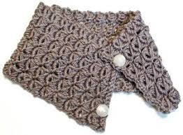 broomstick crochet beautiful broomstick lace cowl allfreecrochet