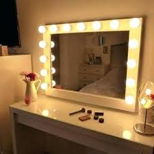 black touch control lighted makeup mirror wall make up mirror mirror