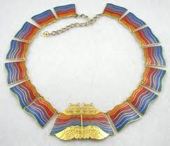 laurel burch jewelry laurel burch rainbow cats necklace garden party collection