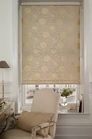 beige patterned roller blind we love the neutral look cortinas