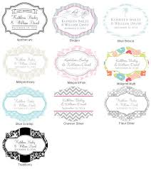 wedding favor labels vintage personalized milk wedding favor jar favor bottles