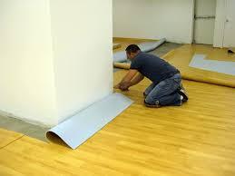 rolled vinyl floor installation installing a vinyl floor that