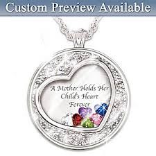 children s locket necklace necklace a holds childs heart personalized birthstone
