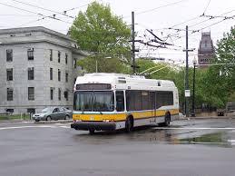 Boston Mbta Bus Map by Trolleybuses In Greater Boston Wikipedia