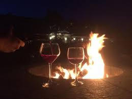 The Firepit Some Wine By The Firepit Picture Of Inn By The Sea Cape