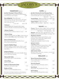 german cuisine menu menu in german cooking wise from all