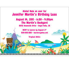 Backyard Birthday Party Invitations Survivor Theme Party