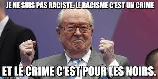 Ne Memes - je ne suis pas raciste le racisme cest un on memegen