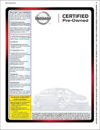 nissan finance insurance requirements certified nissan label 100 pk