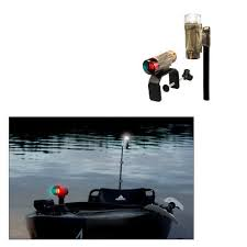 boat navigation light kit attwood boat led navigation light kit 14195 7 cl on bow stern