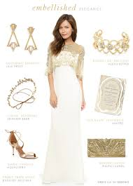 wedding dress accessories wedding dress with gold accessories