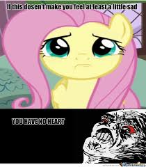 Mlp Fim Meme - if this doesn t make you feel at least a little sad by