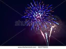 fireworks display celebration download free vector art stock