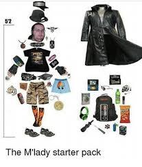M Lady Meme - 52 the m lady starter pack meme on me me