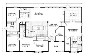 4 bedroom single wide mobile home floor plans best mobile home floor plans ideas gallery and 4 bedroom single wide