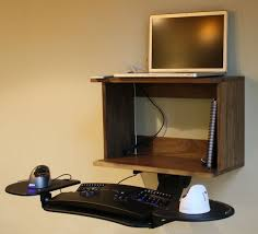 wall mounted standing desk 11 steps with pictures