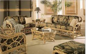 Living Room Wicker Furniture Twist Rattan Furniture Kozy Kingdom