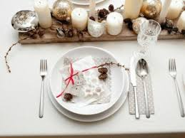 modern table settings modern dining table setting ideas trendy home design decorating