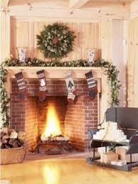 christmas excelent xmas decorations for fireplace image