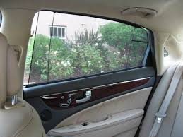 Rear Window Blinds For Cars Power Rear Blinds 2011 Hyundai Equus Signature Long Term Road Test