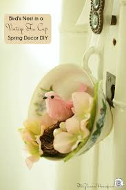 Spring Decoration by Spring Decoration Idea Vintage Tea Cup Diy Spring Decorations