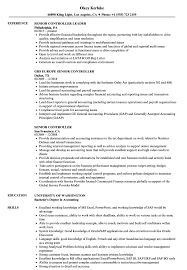 resume of financial controller vinodomia controller resume example assistant controller resume