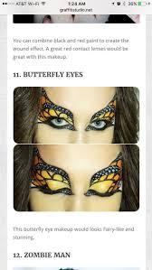 271 best halloween makeup images on pinterest halloween make up