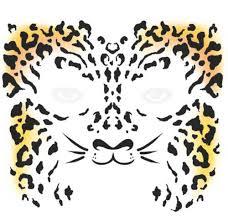 face cheetah temporary tattoo tinsley transfers inc