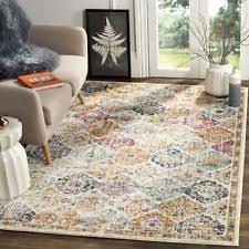 safavieh geometric area rugs ebay