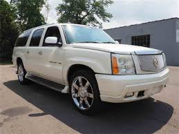 future cadillac escala 2003 cadillac escalade for sale classiccars com cc 1041450